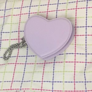 Urban Outfitters Heart Shaped Coin Purse
